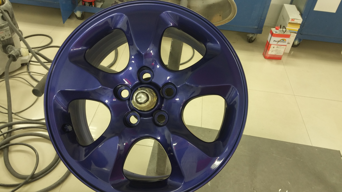 Alloy Wheel Repair Gallery